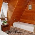 Apartament Różowy - sypialnia