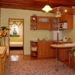 Aneks kuchenny w Apartamencie Zielonym