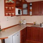 Apartament Kominkowy - aneks kuchenny